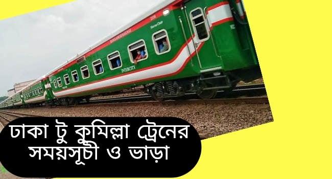 Dhaka to Cumilla Train