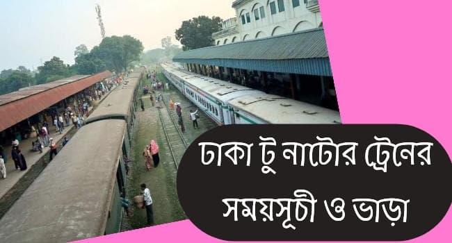 dhaka to natore train